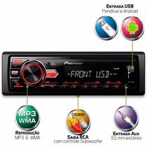 Auto Radio Pioneer Mvh-88ub Mp3 Media Receiver Usb Aux
