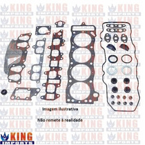 Jogo Juntas Completa Do Motor Toyota Corolla 1.8 2003 - 2007
