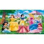 Big Painel De Festa Princesas Disney - 2x1