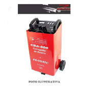 Cba600 - Carregador Baterias C/ Aux. Partida