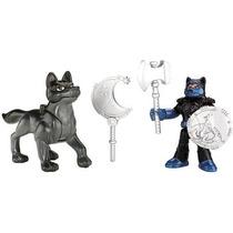 Imaginext Guerreiros Do Castelo Cavaleiro E Cachorro Mattel