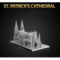 Quebra-cabeça Aço 3d Catedral São Patrício Importado Puzzle