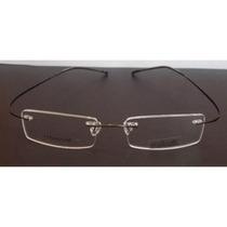 Armacao Óculos De Grau Silhouette Titanium Memoria Grafite