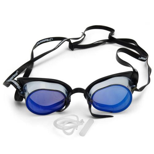 350bde693015e Óculos De Natação Sueco Hammerhead Espelhado Azul Medinas