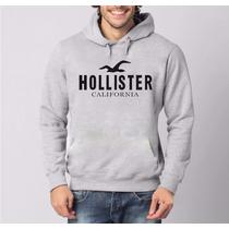 Moletom Canguru Hollister Masculino E Feminino Blusa
