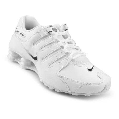 317a9ad0369 Tênis Nike Shox Nz Masculino Branco - Original Frete Grátis