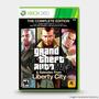 Grand Theft Auto Iv:the Complete : Original  Xbox 360 - Novo