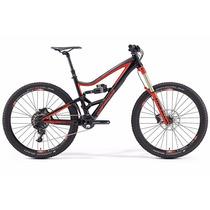 Bicicleta Bike Mtb Am 27.5 19 Full Merida One Sixty 7600