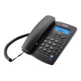 Telefone Fixo Elgin Tcf 3000 Preto