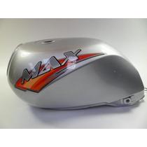 Tanque Moto Sundown Max 125 Até 2008 - Original Prata
