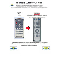 Controle Para Tv Automotiva Nell Fbt1246