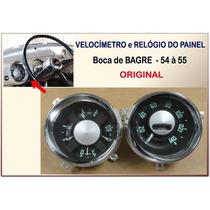Velocimetro Relogio Painel Chevrolet 3100 54 À 55 Original