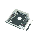 Adaptador Dvd P/ Hd Ou Ssd Sata Notebook Drive Caddy 12,7mm