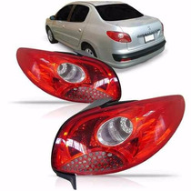 Lanterna Traseira Peugeot 207 2008 09 10 2011 2012 Sedan L E