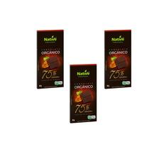 Kit Páscoa Chocolate Orgânico Native 75% Cacau, Sem Ovo