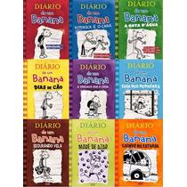 9 Livros Box Diario De Um Banana Completo Jeff Kinney Atuali