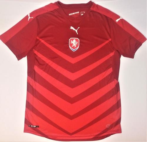 Camisa Republica Tcheca 2016  rara  nova  puma  seleção 4a3bd70d88ed3