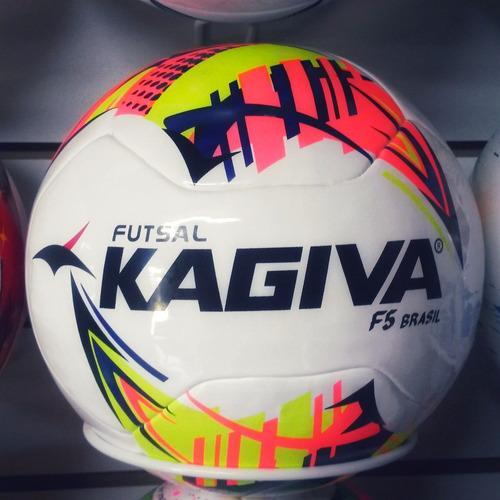 10 Bolas Futsal Kagiva F5 Brasil Pró Oficial Liga Nacional 229a091273166