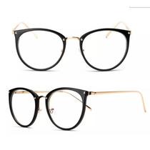 b98d5dcb3 Armação Feminina Óculos Para Grau Vintage Geek Moda Gato à venda em ...