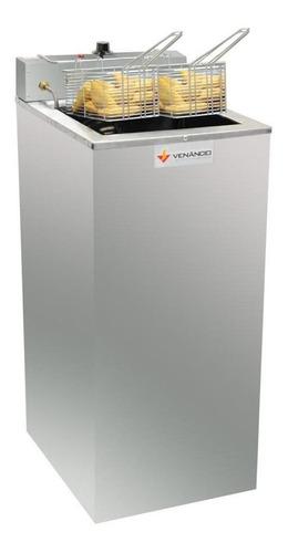 Fritadeira Industrial Elétrica Venâncio Sfao5 Prata 220v
