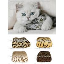 4 Cobertores Manta Pet Cachorro Gatos Microfibra 1,10x0,80