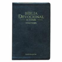 Biblia De Estudo Devocional Preta
