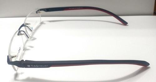 993bf279cffd6 Armação Óculos De Grau Modelo Tagheuer Sem Aro Th-0843 Red. Preço  R  99 7  Veja MercadoLibre