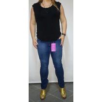 Calça Biotipo Cigarrete Skinny Cintura Alta Tam 44 Ao 50