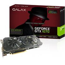 Placa De Video Gtx 1070 Vga Nvidia Galax Gtx1070 Ex 8gb