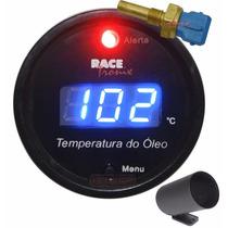 Medidor Temperatura Óleo Digital Az Racetronix Sensor + Copo