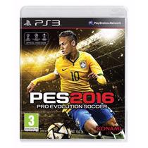 Pes 16 Ps3 Pro Evolution Soccer 2016 Ps3 Portu Midia Fisica