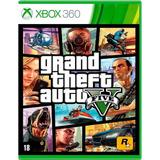 Gta 5 Xbox 360 Mídia Física Pronta Entrega Novo Original
