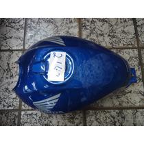 Tanque Titan 150 Azul 04 Pintado