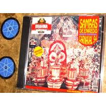 Cd Sambas Enredo Carnaval 94 (1993) Salgueiro Imperatriz
