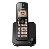 Telefone Sem Fio Panasonic Kx-tgc350 Preto