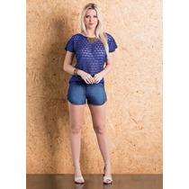 Short Jeans Feminino Balada Noite Dia Verão Praia