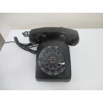 Telefone Western Electric Preto Americano Antigo Anos 60