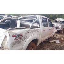 Sucata Hilux Cabine Dupla 2014 4x4 Diesel