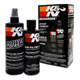 Kit Limpeza Filtro Ar K&n Kn Recharger + Brindes Exclusivos