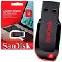 Pendrive Sandisk Cruzer Blade 32gb Flash Drive