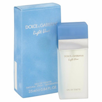 Perfume Light Blue 100ml Dolce Gabanna D&g Feminino Original