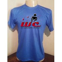 Camiseta Azul Royal Dj Wagner Frase O Ultimo Apaga A Lua Qra