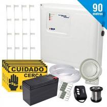 Kit Cerca Elétrica Shock Control Ecp Para 90 Metros De Muro