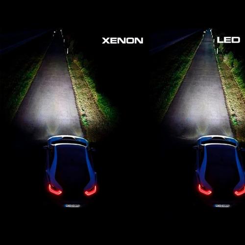Xenon Super Led Carro 6000k H1 H3 H7 H8 H11 Hb3 Hb4 2800l