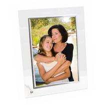 Porta Retrato Vidro Transparente 10x15 Vertical E Horizontal