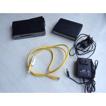 Roteador 3g Vpn Pro Neger + Router D-link Dsl-500b