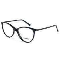 Armação Oculos P  Grau Feminino Ch49 Acetato Original à venda em ... 359aa73e83