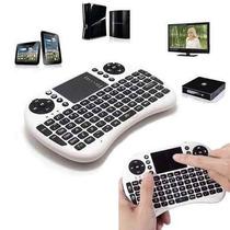 Mini Teclado Mouse Wifi P/ Celula Smart Tv Tablet C/ Bateria