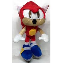 Sonic Hedgehog Knuckles Pelúcia Grande 50 Cm