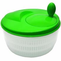 Kit C/3 Centrífuga Manual Secador De Saladas Verduras Legume